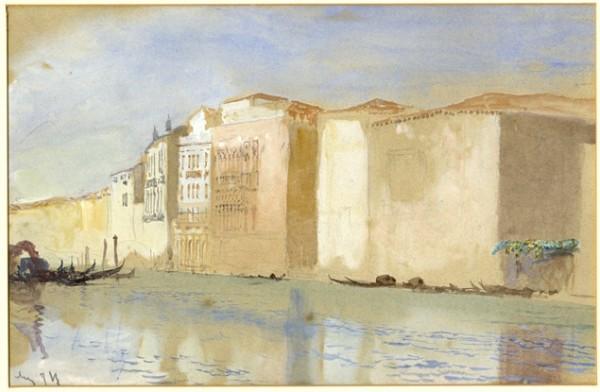 Ruskin, Venezia. Diga marittima