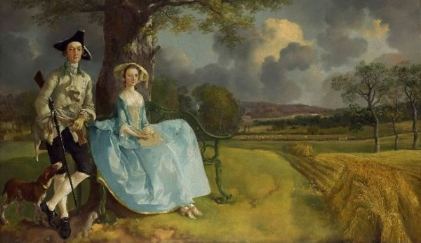 Gainsborough, Mr. and Mrs. Andrew, c. 1750