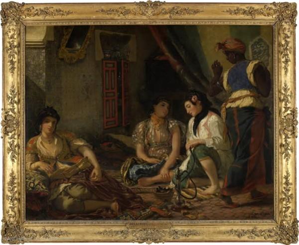 Delacroix, Femmes d'Alger dans leur appartement, 1834