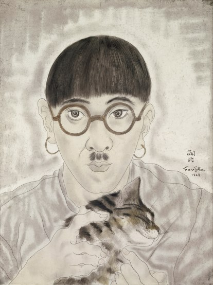 Foujita, Autoportrait, 1928