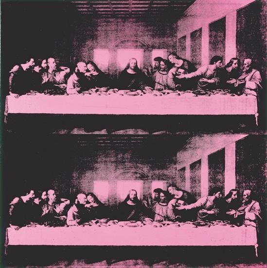 Warhol, The Last Supper, 1986