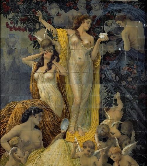 Basilio Cascella, La Bellezza, c. 1927, Terme Tettuccio, Montecatini
