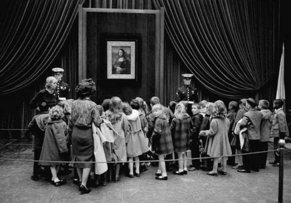 La Gioconda a Washington, 1963