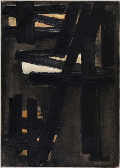 Soulages, Peinture 46 x 33, 16 juin 1953