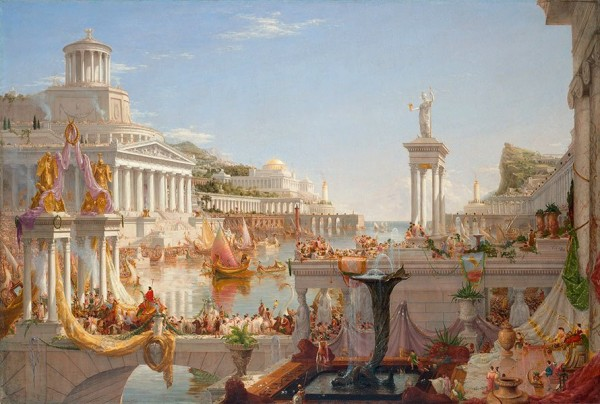 Thomas Cole, The Course of Empire. The Consummation of Empire, 1835