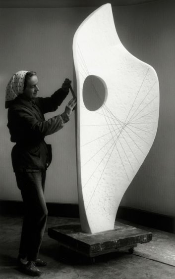 Hepworth, Curved Form (Bryher II), 1961