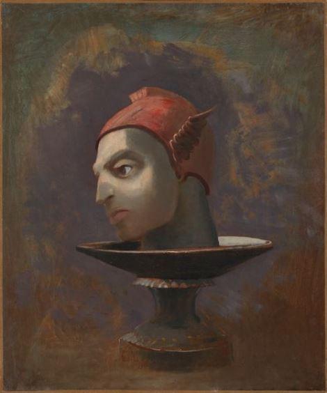 Odilon Redon, Tête de Persée, c.1875