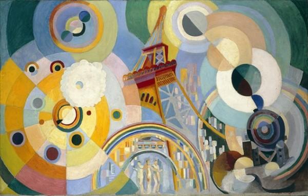 Delaunay, Air, fer, eau, 1937