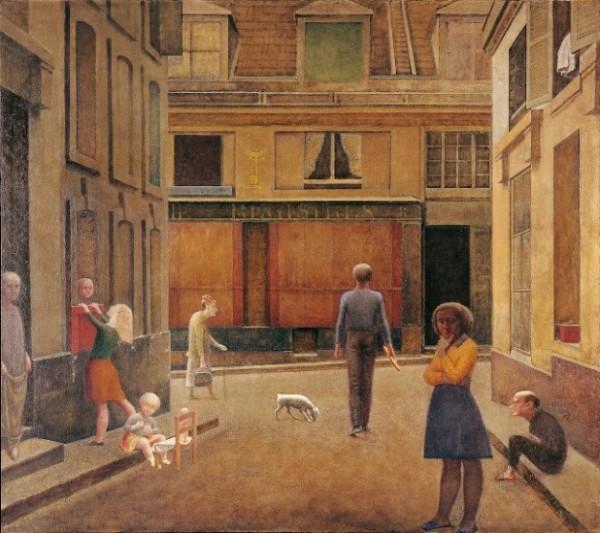 Balthus, Passage du Commerce Saint André, 1952-1954