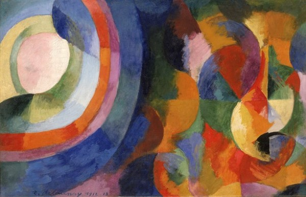 Delaunay, Formes circulaires. Soleil, lune, 1912