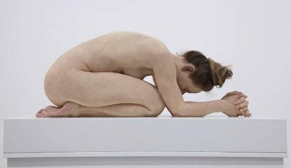 Sam Jinks, Untitled (Kneeling Woman), 2015