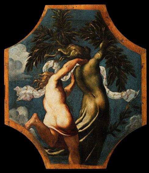 Tintoretto, Apollo e Dafne, c. 1542