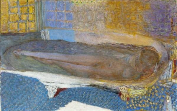 Bonnard, Nu dans le bain, ou Nu à la baignoire, 1937