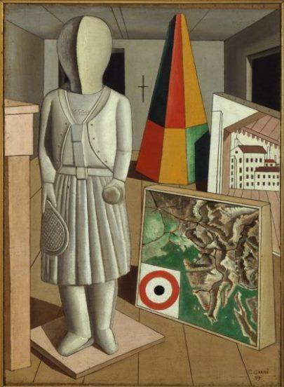 Carrà, La musa metafisica, 1917