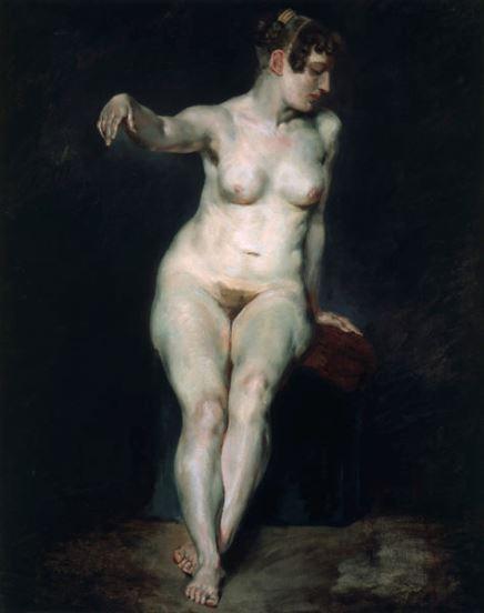 Delacroix, Mademoiselle Rose, c. 1820-1823