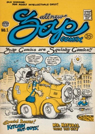 Crumb, Zap, no. 1, 1968