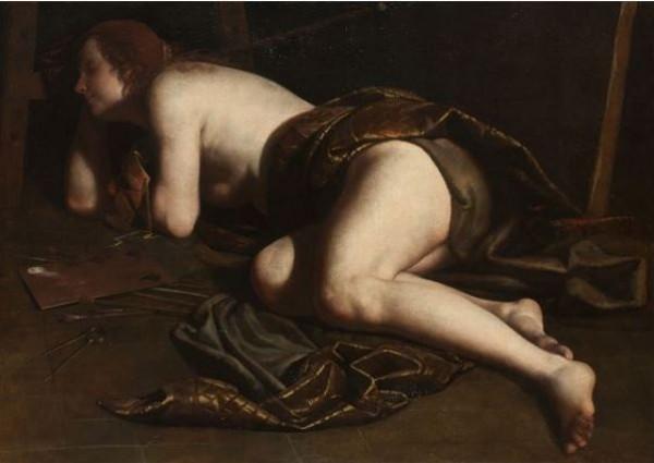 Artemisia Gentileschi, Allegoria della pittura, 1630-1640