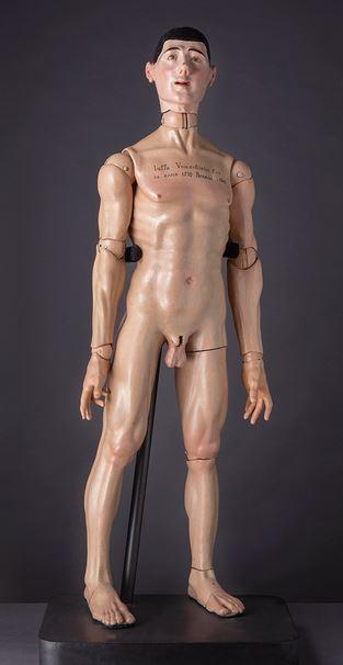 Mateo Vangorla, Manichino anatomico, 1570