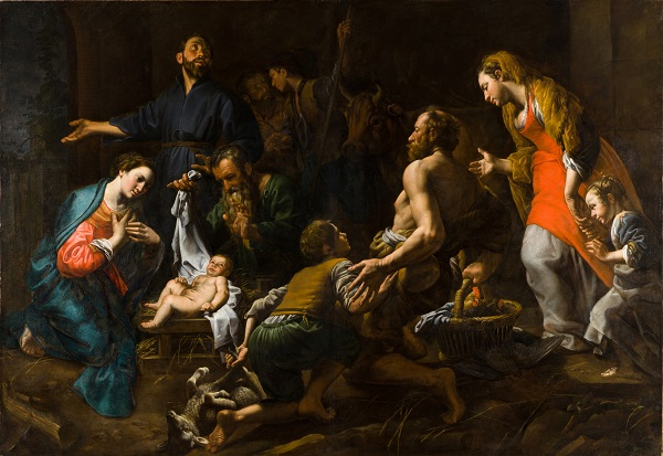 Theodoor van Loon, Adorazione dei pastori