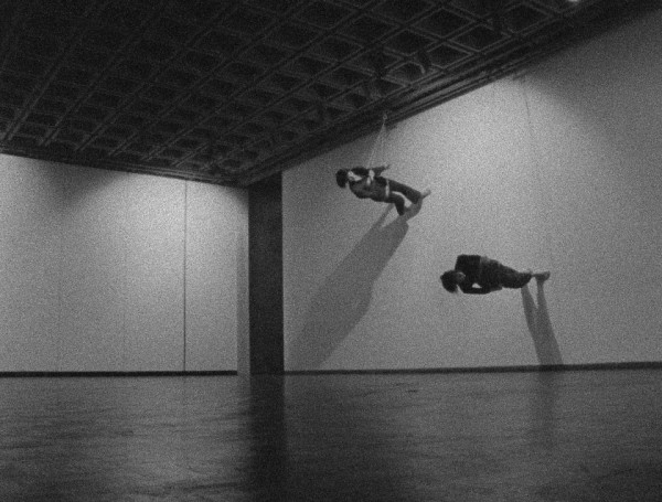 Trisha Brown, Walking on the Wall, 1971