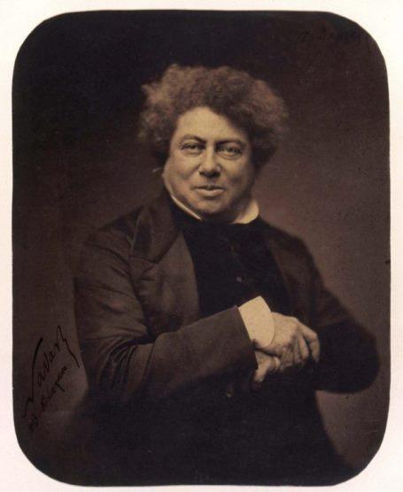 Félix Nadar, Alexandre Dumas, 1855