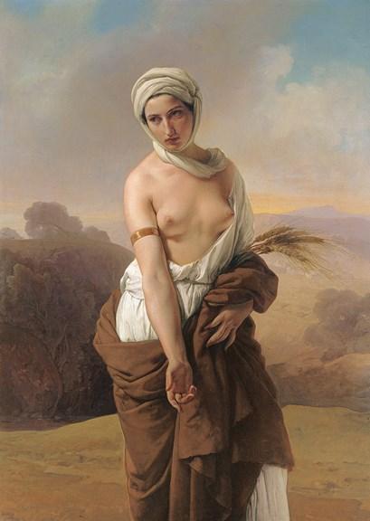 Hayez, Ruth, 1853