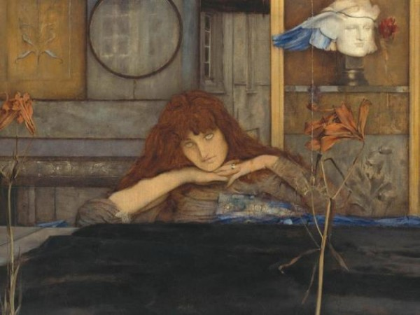 Khnopff, «I Lock My Door Upon Myself», 1891
