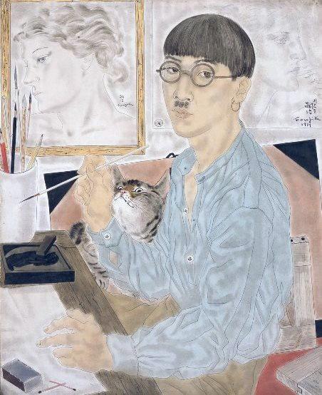 Foujita, Autoportrait, 1929
