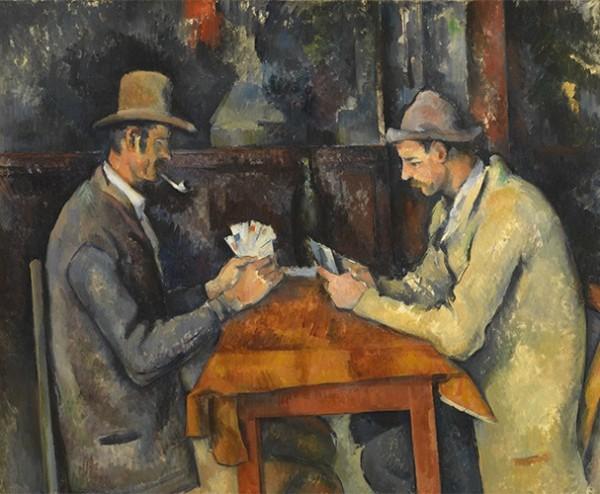 Paul Cézanne, Joueurs de cartes, 1892-1896