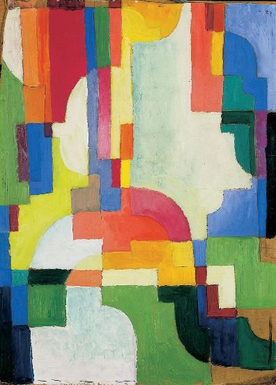 August Macke, Forme colorate, 1913