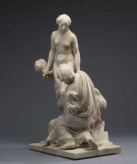 Falconet, Pygmalion et Galatée, 1763