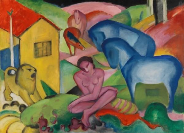 Franz Marc, Il sogno, 1912