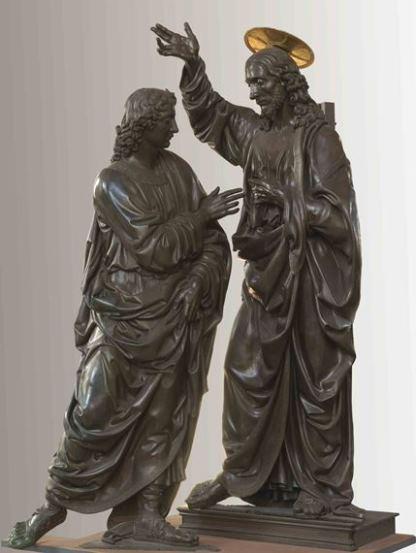 Verrocchio, Incredulità di san Tommaso, 1467-1483