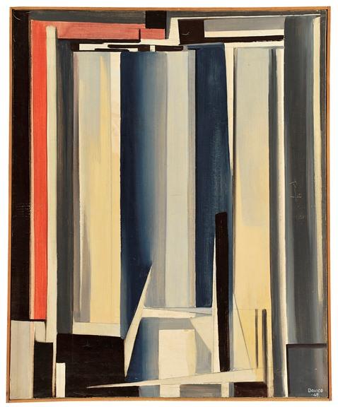 Davico, Composizione astratta 1, 1949