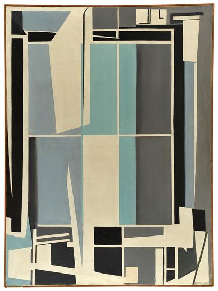Davico, Grande composizione (Meccanicità), 1949-50