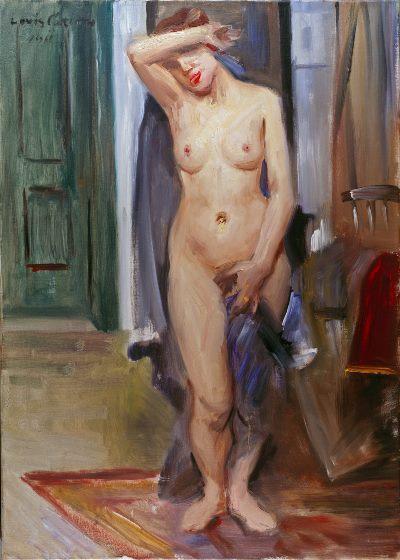Lovis Corinth, Nu debout , 1911