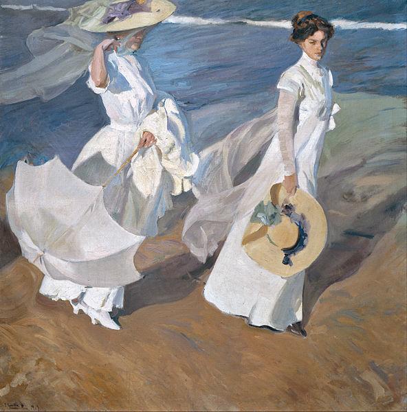 Sorolla, Passeggiata sul mare, 1909