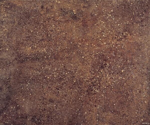 Dubuffet, Terre rouge (Texturologie), 1957