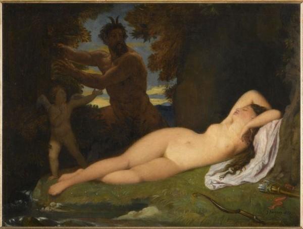 Ingres, Giove e Antiope, 1851