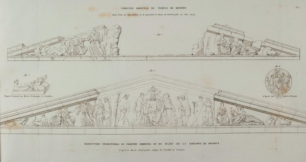 Quatremère de Quincy, 1825, tav. 3