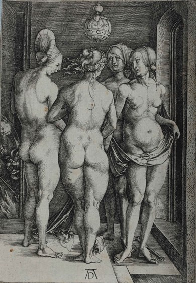 Dürer, Quattro streghe, 1497