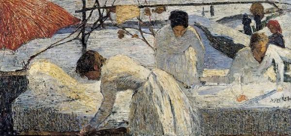Fornara, Le lavandaie, 1898