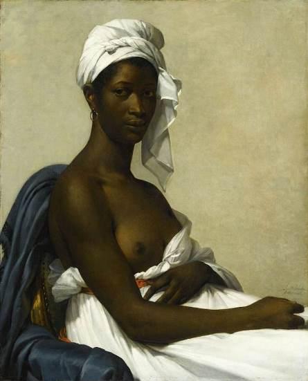 Marie-Guillemine Benoist, Portrait d'une négresse, 1800