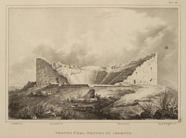 Veduta del Tetrao di Segesta