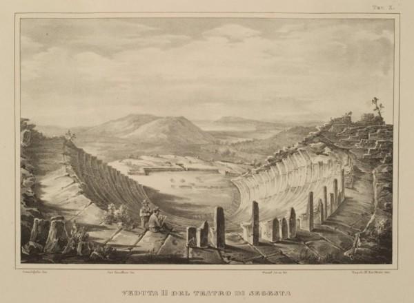 Veduta II del Teatro di Segesta