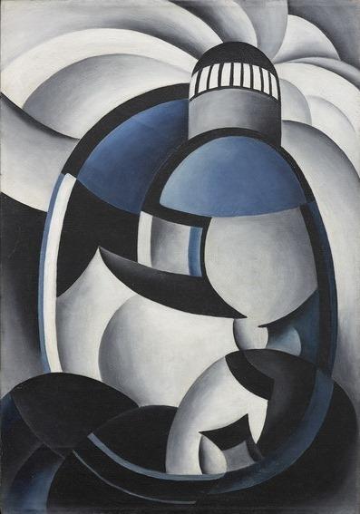 Ida Ten Eyck O'Keeffe, Variation on a Lighthouse Theme II, c. 1931-32