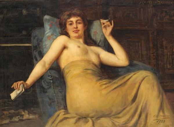 Léon Herbo, Manette Salomon, 1900