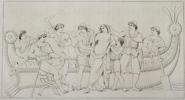 Tischbein, Elena e Paride, 1801