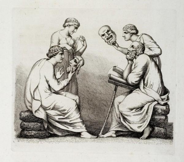 Tischbein, Omero e le Muse, 1801