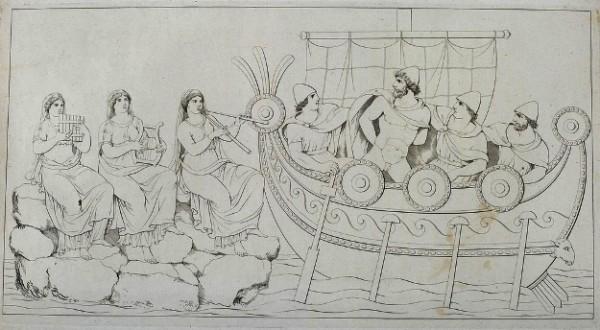 Tischbein, Ulisse e le Sirene, 1801